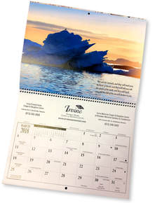 Irvine Funeral Home God in Nature Calendar